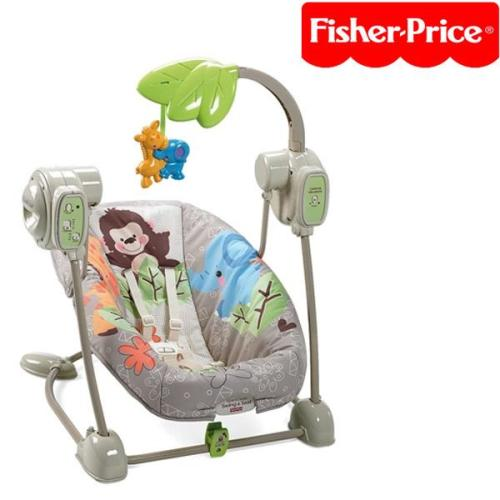 Fisher Price Space Saver Swing & Bouncy Seat